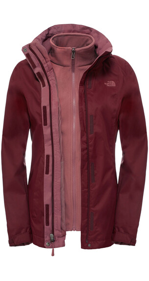 The North Face Evolve II Triclimate - Veste - rose/rouge
